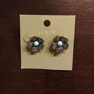 J.Crew Factory Flower Stud Earrings